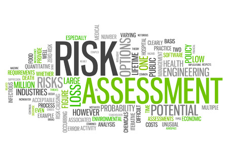probability: Word Cloud with Risk Assessment related tags