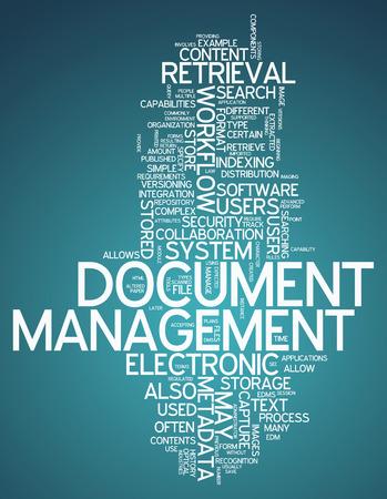 metadata: Tags Word Cloud con la gestione dei documenti relativi