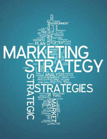 Word Cloud with Marketing Strategy related tags