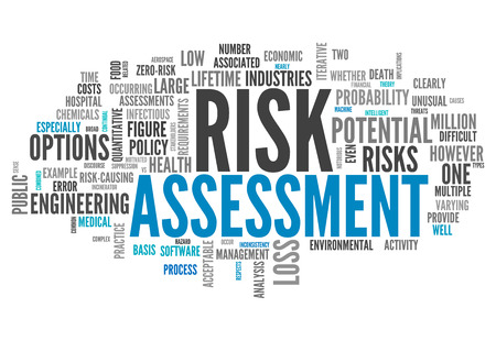 risk management: Word Cloud with Risk Assessment related tags