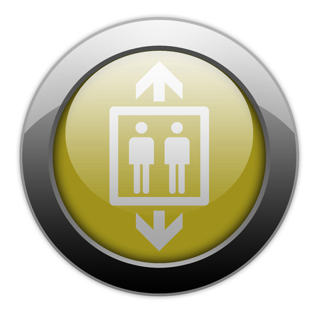 Icon, Button, Pictogram with Elevator symbol photo