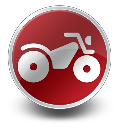 Icon, Button, Pictogram with ATV symbol photo