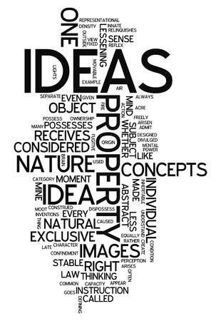 Word Cloud with Ideas related tags photo