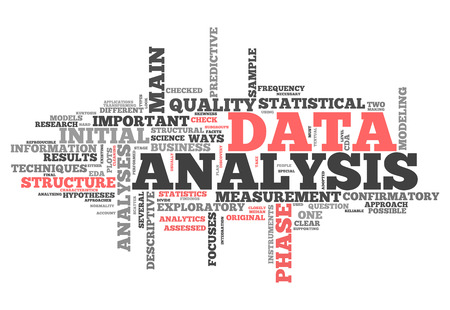 categorical: Word Cloud with Data Analysis related tags