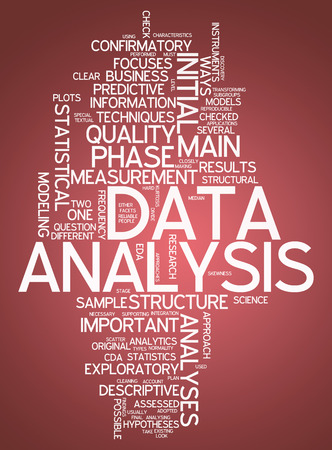 analyses: Word Cloud with Data Analysis related tags