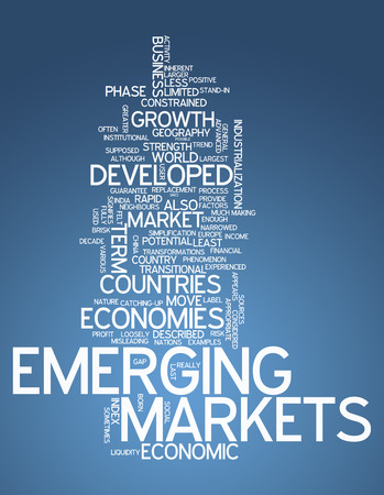 Word Cloud with Emerging Markets related tags