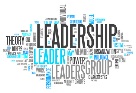 management team: Word Cloud with Leadership related tags