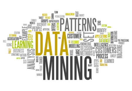 interpretation: Word Cloud with Data Mining related tags