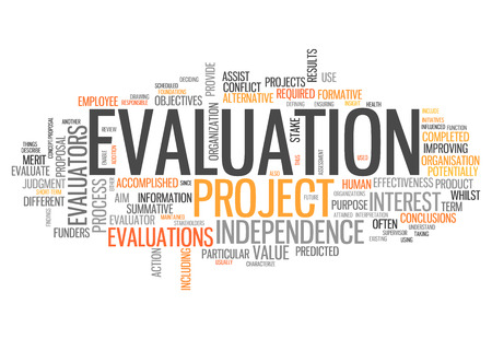 characterization: Word Cloud with Evaluation related tags