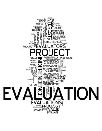 formative: Word Cloud with Evaluation related tags