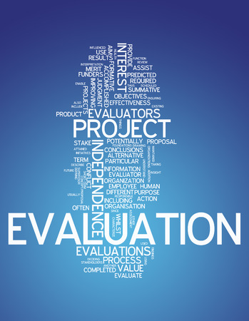 characterize: Word Cloud with Evaluation related tags