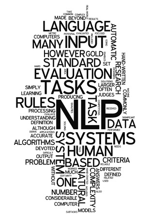 linguistics: Word Cloud with NLP related tags