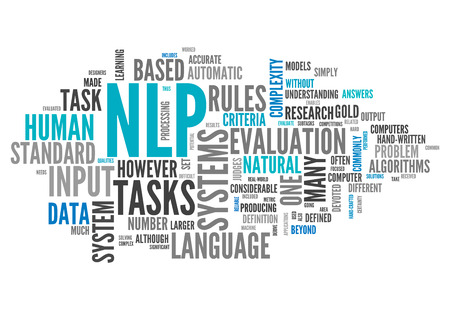 Word Cloud with NLP related tags
