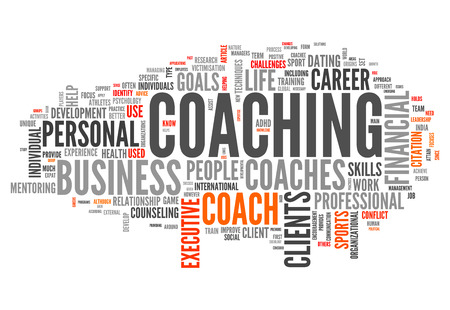 adhd: Word Cloud with Coaching related tags