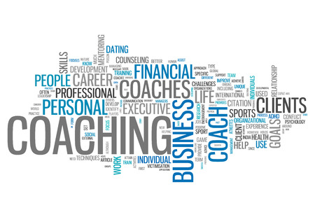 Word Cloud with Coaching related tags
