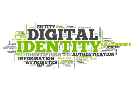 authorisation: Word Cloud with Digital Identity related tags