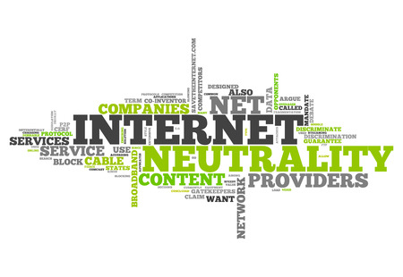 neutrality: Word Cloud with Internet Neutrality related tags