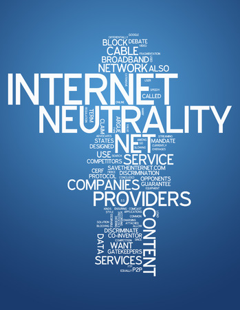 isp: Word Cloud with Internet Neutrality related tags
