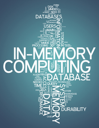 computation: Word Cloud with In-Memory Computing related tags