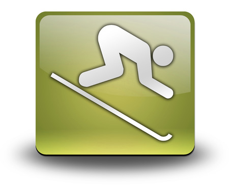 hillside: Pictogram with Downhill Skiing symbol