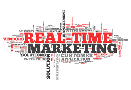 realtime: Word Cloud with Real-Time Marketing related tags