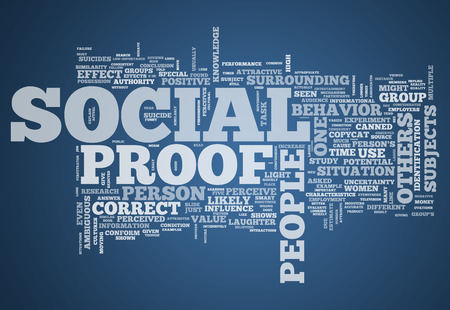 norm: Word Cloud with Social Proof related tags