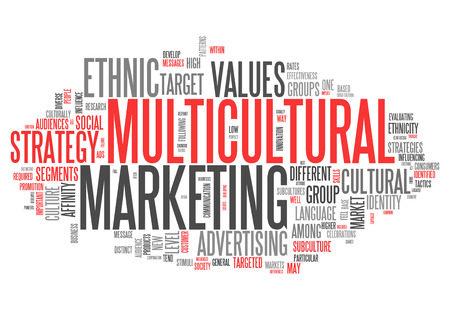 subculture: Word Cloud with Multicultural Marketing related wording