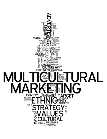 subcultures: Word Cloud with Multicultural Marketing related wording
