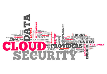 cloud security: Word Cloud with Cloud Security related tags