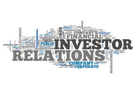 cfo: Word Cloud with Investor Relations related tags