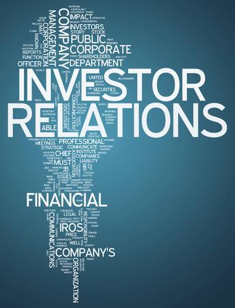 株主・投資家と Word のクラウド関連タグ