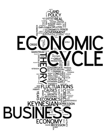 economic cycle: Word Cloud with Economic Cycle related tags