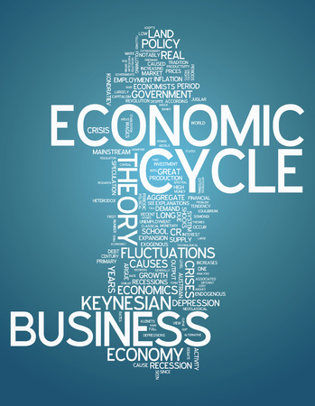 fluctuations: Word Cloud with Economic Cycle related tags