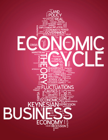 Word Cloud with Economic Cycle related tags