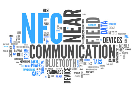 ticketing: Word Cloud with Near Field Communication related tags