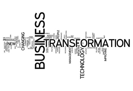 updating: Word Cloud with Business Transformation related tags