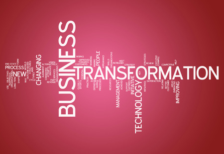 upgrading: Word Cloud with Business Transformation related tags