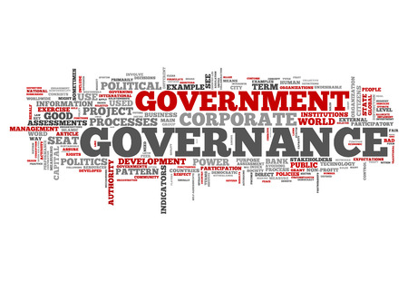 governing: Word Cloud with Governance related tags