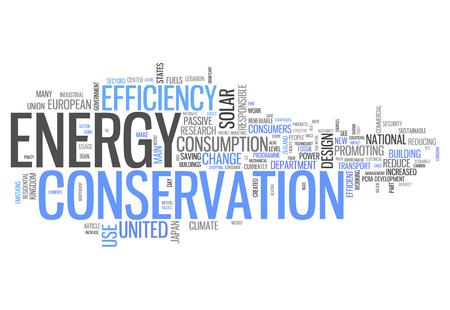 energy use: Word Cloud with Energy Conservation related tags