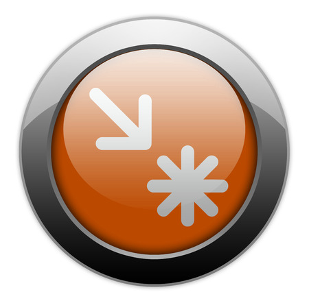 waypoint: Icon, Button, Pictogram with Point of Interest symbol
