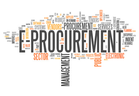 Word Cloud with E-Procurement wording