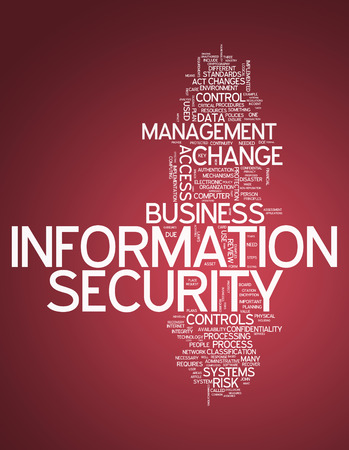 vulnerabilities: Word Cloud with Information Security related tags