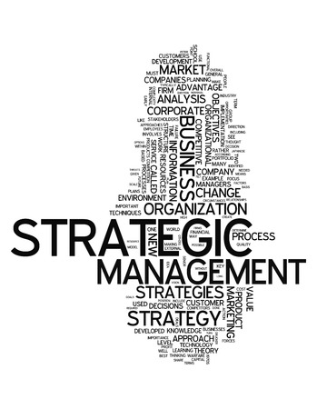 managerial: Word Cloud with Strategic Management related tags