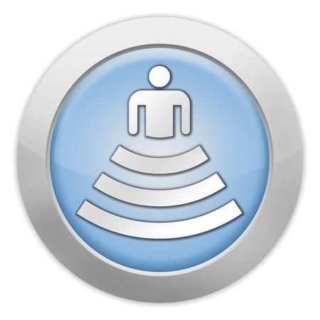 Icon, Button, Pictogram with Amphitheater symbol Stok Fotoğraf - 34034100