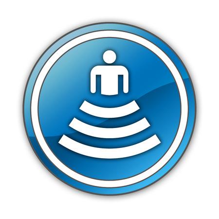 Icon, Button, Pictogram with Amphitheater symbol Stok Fotoğraf - 34034114