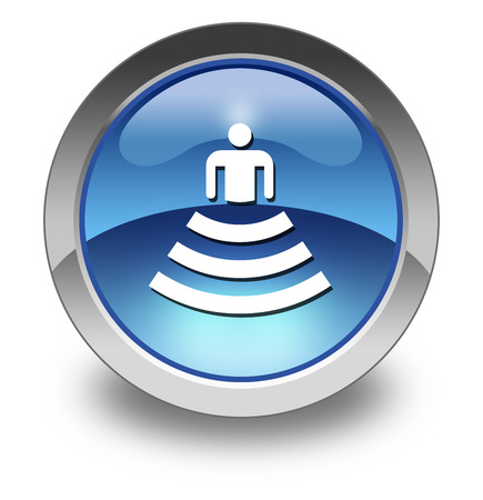Icon, Button, Pictogram with Amphitheater symbol Stok Fotoğraf - 36078119