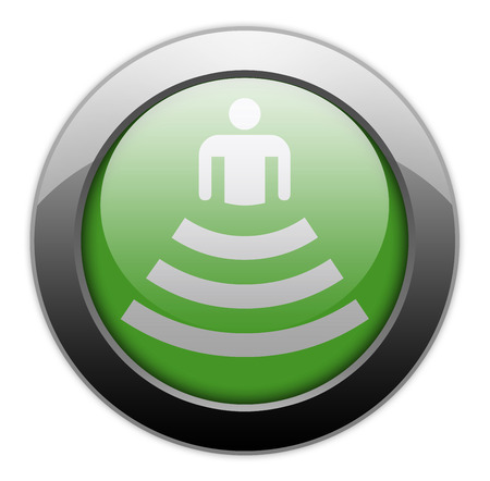 Icon, Button, Pictogram with Amphitheater symbol Stok Fotoğraf - 36078169