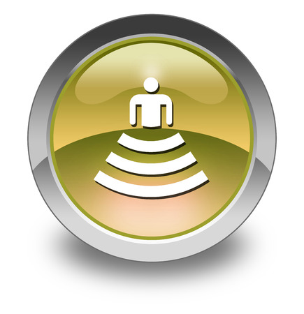 amphitheatre: Icon, Button, Pictogram with Amphitheater symbol