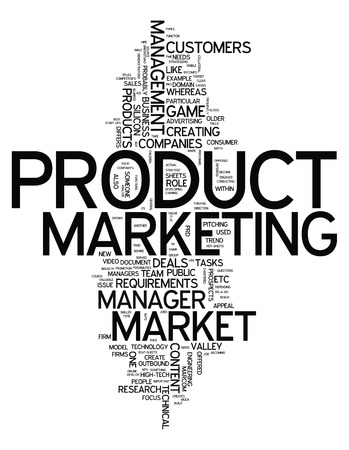 marketer: Word Cloud with Product Marketing related tags