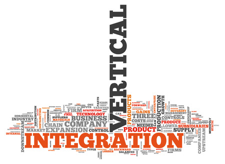 Vertical Integration 관련 태그가있는 Word Cloud